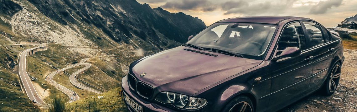Bmw E46 mountain roads transfagarasan