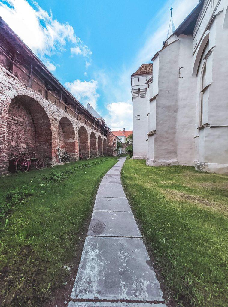 ziduri fortificate mosna
